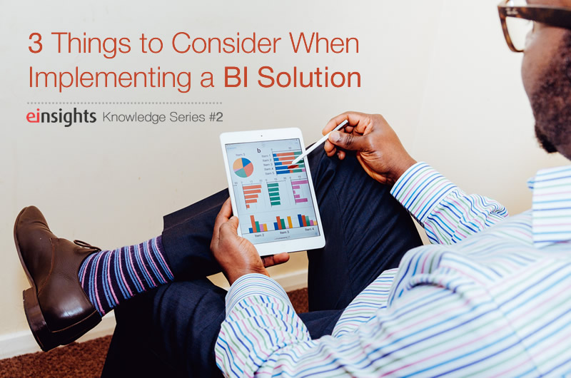 BI Solutions Implementation