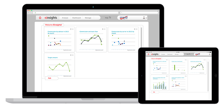 Einsights product tablet
