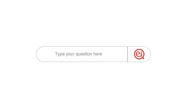 Intuitive Interface Query bar